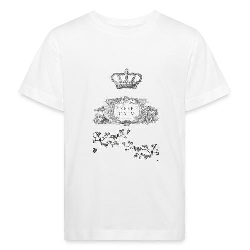 keep calm and kiss me - Camiseta ecológica niño