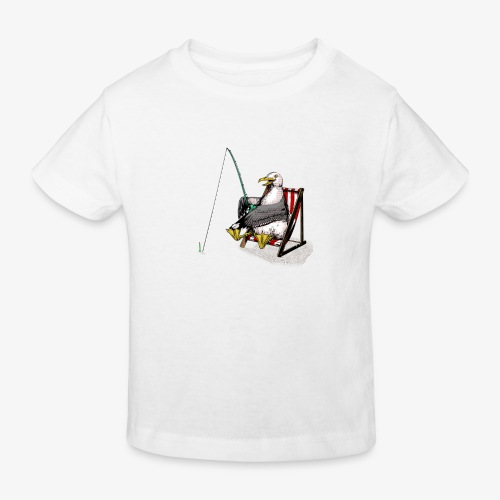 Seagull Fisher - Kids' Organic T-Shirt