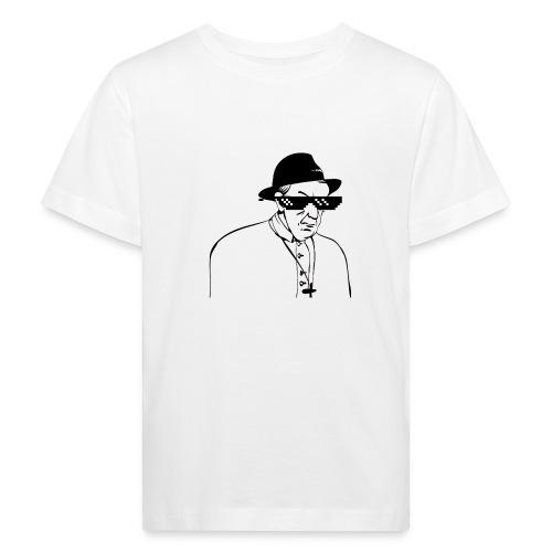 pope slaps woman meme - Maglietta ecologica per bambini
