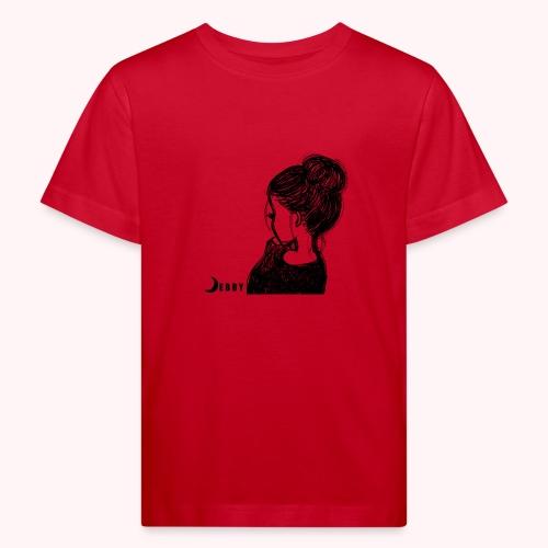 FALL BUN HAIR - 🍂COLLEZIONE AUTUNNALE by DEBBY🍁 - Maglietta ecologica per bambini