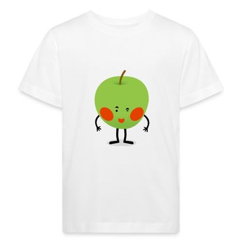 Happy Apfel - Kinder Bio-T-Shirt