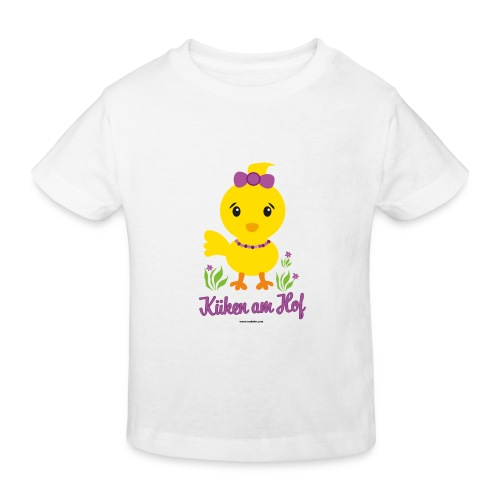 Ostern für kleine Mädchen - Kinder Bio-T-Shirt