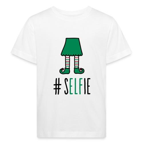 Christmas: (S)Elfie - Kinder Bio-T-Shirt