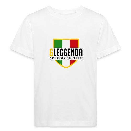 6LEGGENDA - Maglietta ecologica per bambini