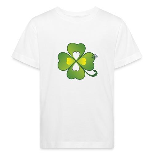 Clover - Symbols of Happiness - Kids' Organic T-Shirt