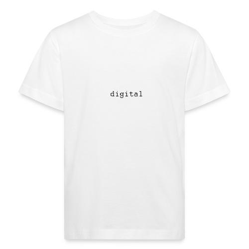 digital - T-shirt bio Enfant