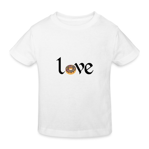 love dona - Camiseta ecológica niño