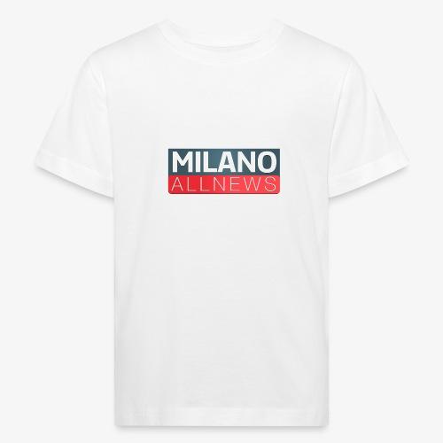 Milano AllNews Logo - Maglietta ecologica per bambini