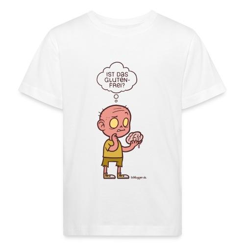 Ernährungsbewusster Zombie - Kinder Bio-T-Shirt