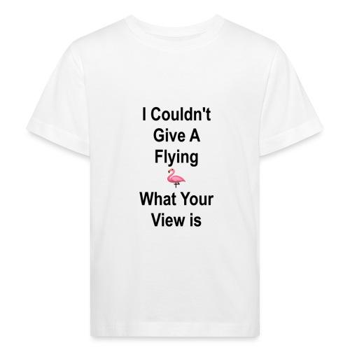 Flying Flamingo - Bercow - Kinderen Bio-T-shirt