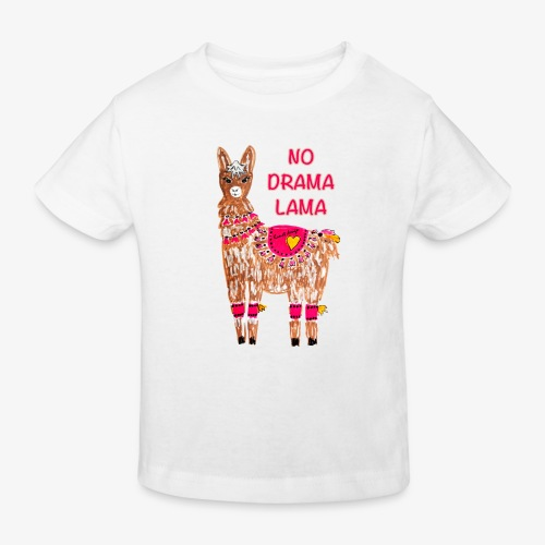NO DRAMA LAMA - Kinder Bio-T-Shirt