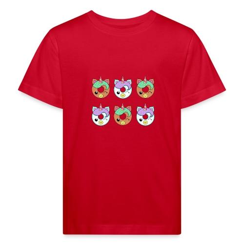 Unicorn Donut - Maglietta ecologica per bambini