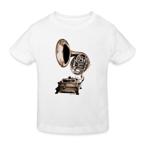 Grammo-Horn - Kinder Bio-T-Shirt