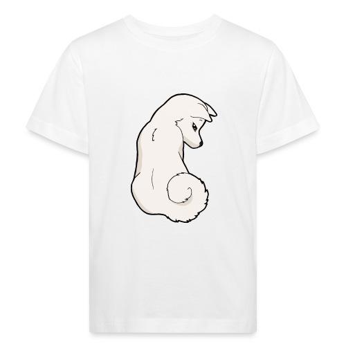 Akita bianco - Maglietta ecologica per bambini
