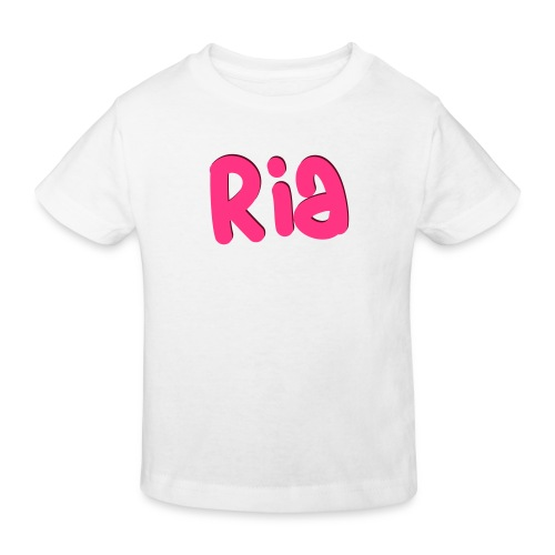 Ria Roo 3D - Kids' Organic T-Shirt