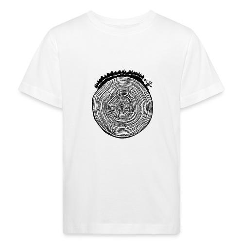 Kattoo Schwarz - Kinder Bio-T-Shirt