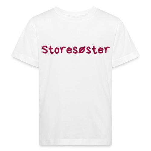 Storesøster - Økologisk T-skjorte for barn