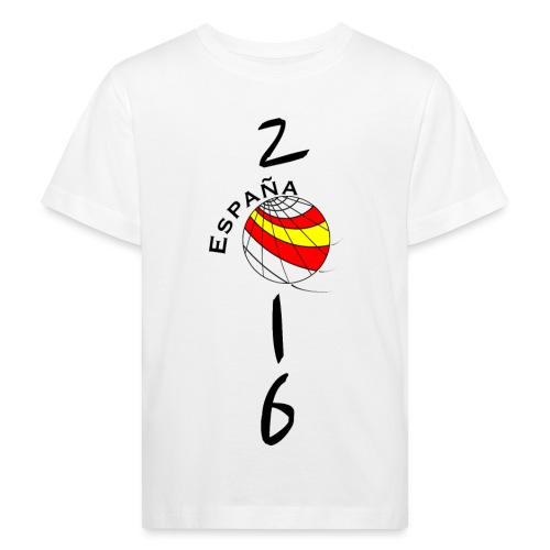 Spanien - Camiseta ecológica niño