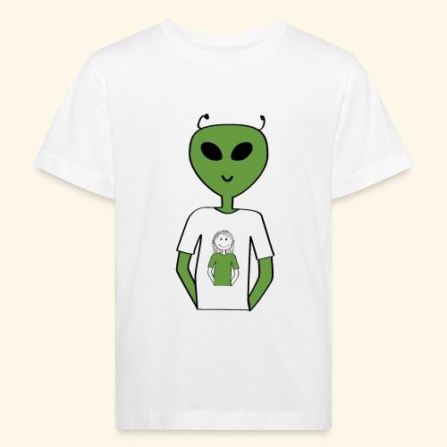 Alien human T-shirt T-shirt - Ekologisk T-shirt barn