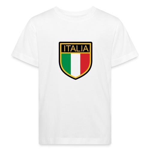 SCUDETTO ITALIA CALCIO - Maglietta ecologica per bambini