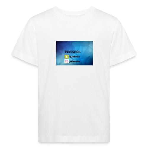 Penisnos merch med snap och ig - Ekologisk T-shirt barn