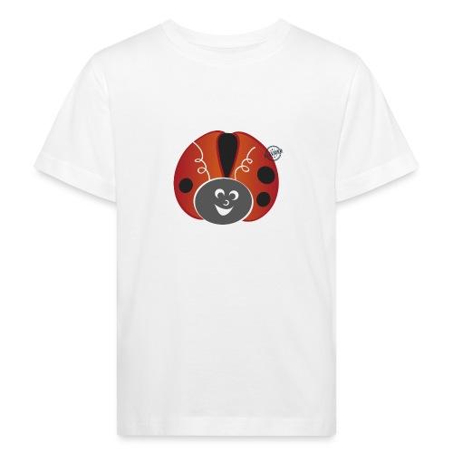 Ladybug - Symbols of Happiness - Kids' Organic T-Shirt