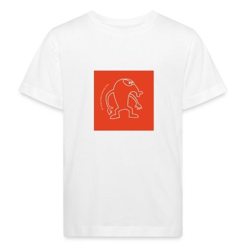 button vektor rot - Kinder Bio-T-Shirt