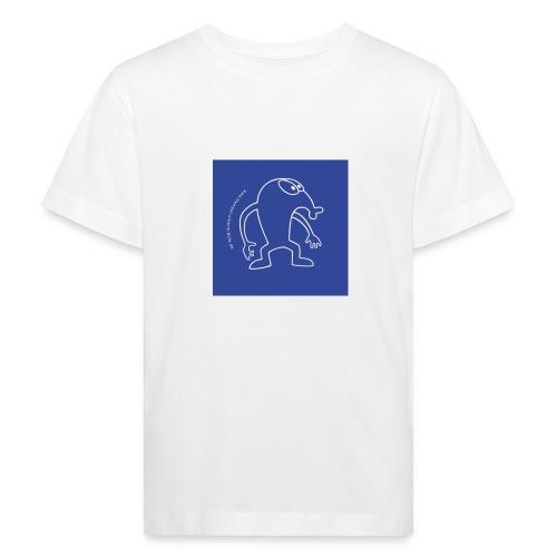 button vektor blau - Kinder Bio-T-Shirt