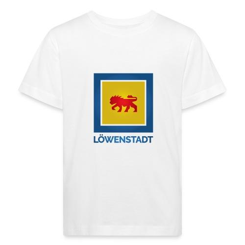 Löwenstadt Fan Design 11 - Kinder Bio-T-Shirt