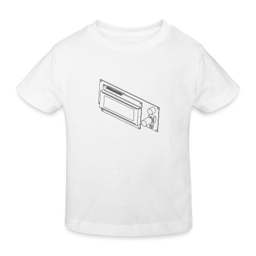2004LCD (no text). - Kids' Organic T-Shirt