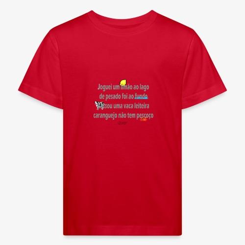 Versinho de infancia - Kids' Organic T-Shirt