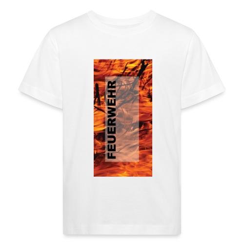 Feuerwehr Handycover - Kinder Bio-T-Shirt