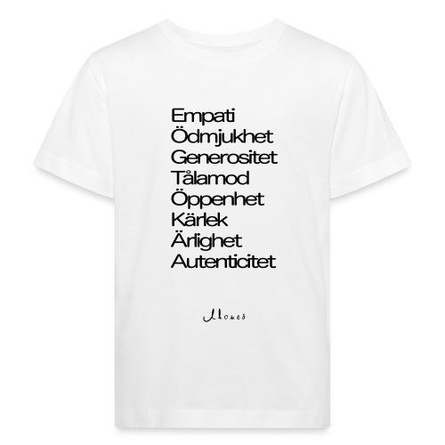 Egenskaper lista - Kids' Organic T-Shirt