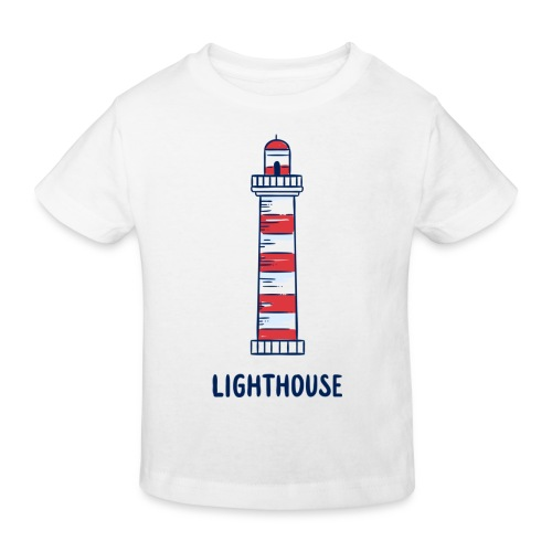 Lighthouse - Kinder Bio-T-Shirt