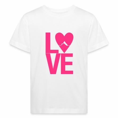 Mountain Love - Kinder Bio-T-Shirt