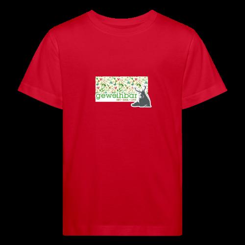 geweihbär ART - Kinder Bio-T-Shirt