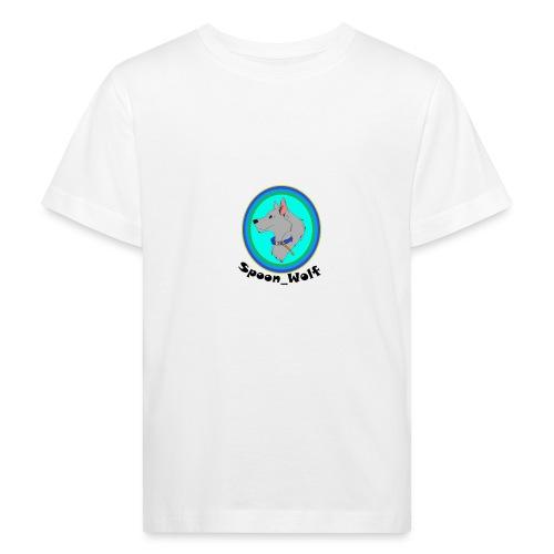 Spoon_Wolf_2-png - Kids' Organic T-Shirt