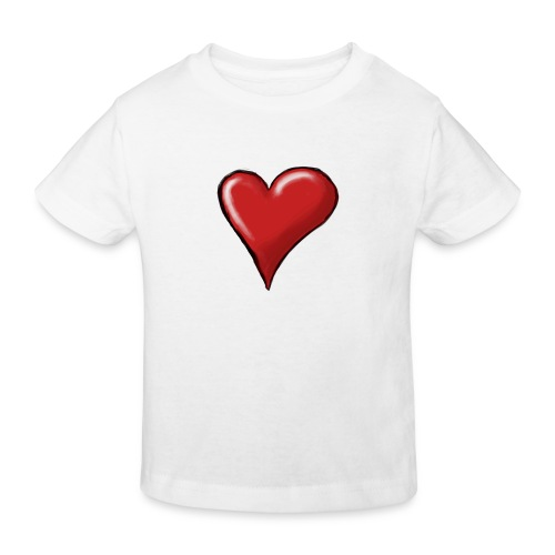 Love (coeur) - T-shirt bio Enfant