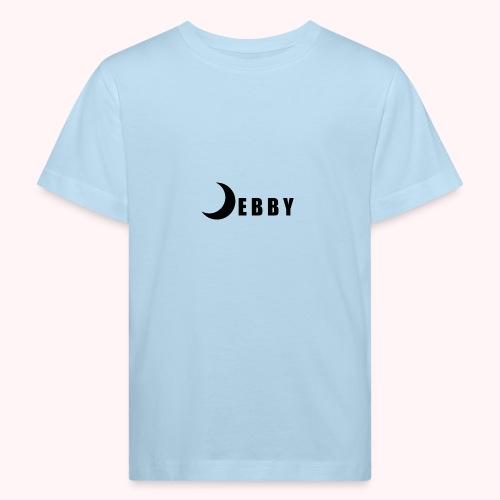 DEBBY - BLACK LOGO - Maglietta ecologica per bambini