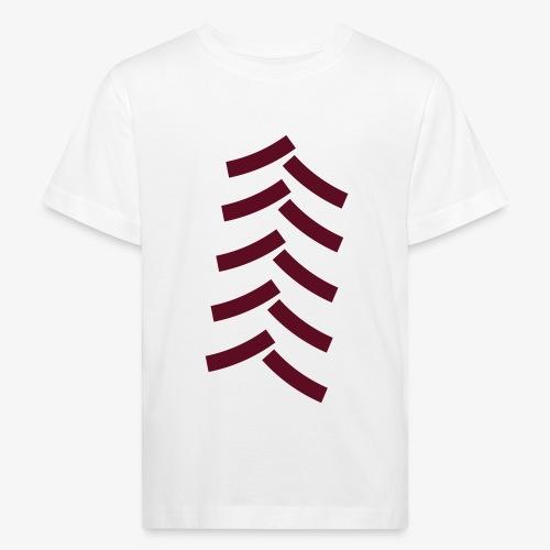 tractor spoor, bandenspoor - Kinderen Bio-T-shirt