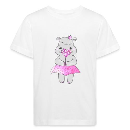 Happy Hippo - Kinder Bio-T-Shirt