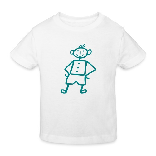 me-white - Kinder Bio-T-Shirt