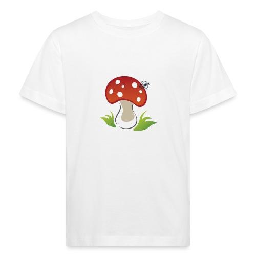 Mushroom - Symbols of Happiness - Kids' Organic T-Shirt