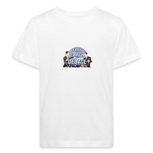 FLAT EARTH DEBATE - Kids' Organic T-Shirt