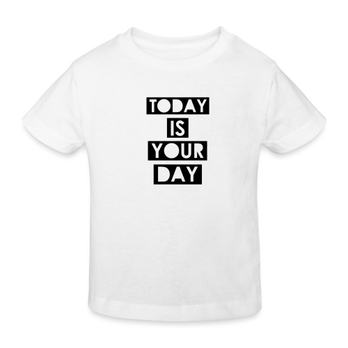 Official Design Kompas Today is your day - Kinderen Bio-T-shirt