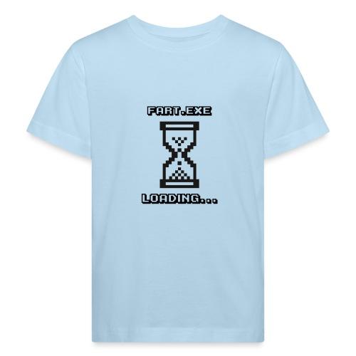 Fart Loading - Kids' Organic T-Shirt