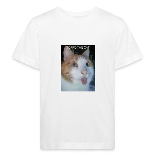 TOFFO THE CAT - Lasten luonnonmukainen t-paita