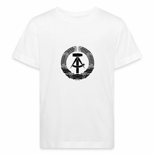 DDR Wappen (schwarz) - Kids' Organic T-Shirt