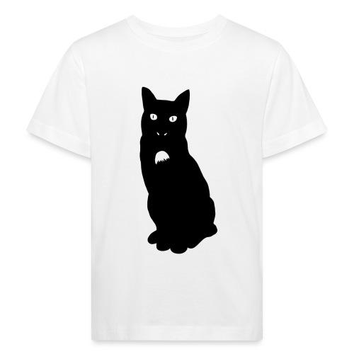 Knor de kat - Kinderen Bio-T-shirt
