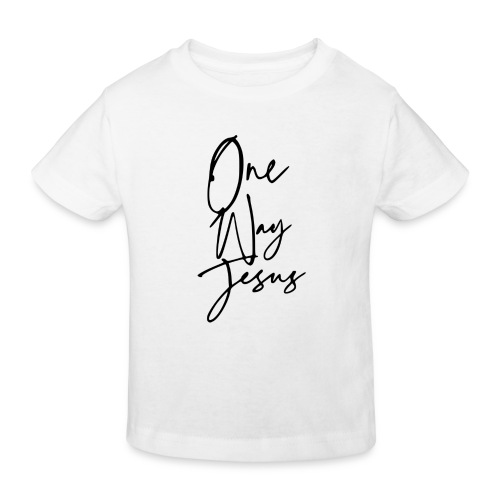 one way jesus - Camiseta ecológica niño